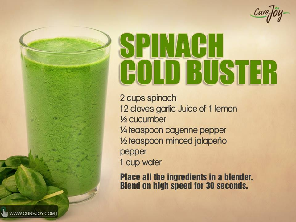 Spinach Cold Buster
