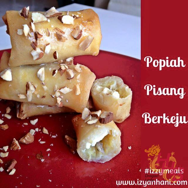 Popia Pisang Cheese