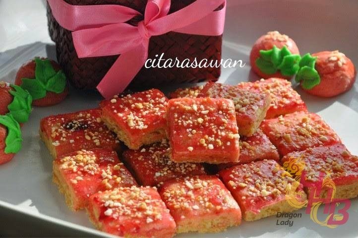 strawberry layer cookies